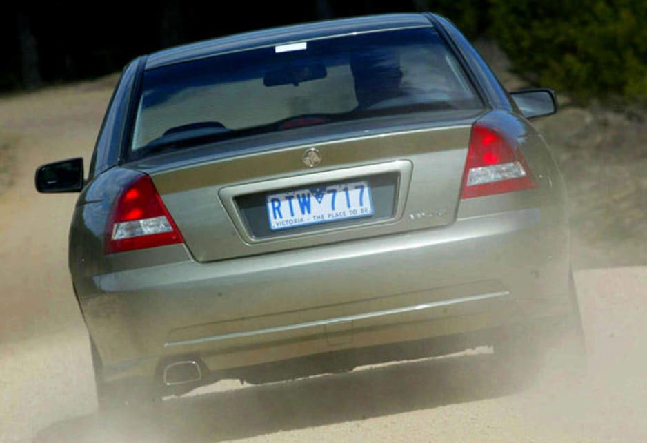 2002 Holden Commodore VY Berlina