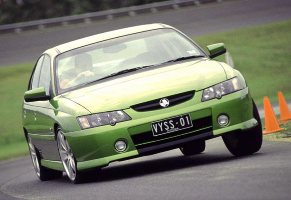2002-2003 Holden Commodore VY SS V8