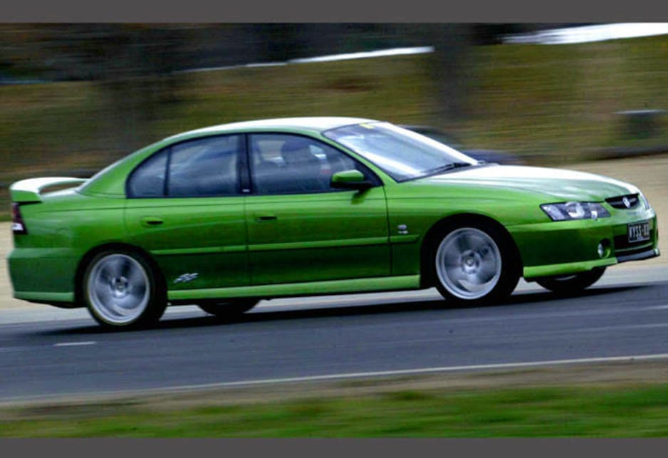 2002 Holden Commodore VY SS