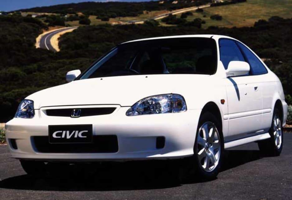 2003 honda civic coupe review