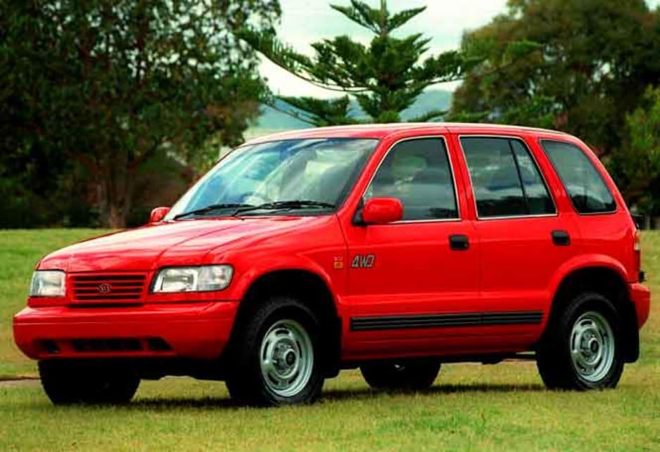 Exceptional 1997 Kia Sportage