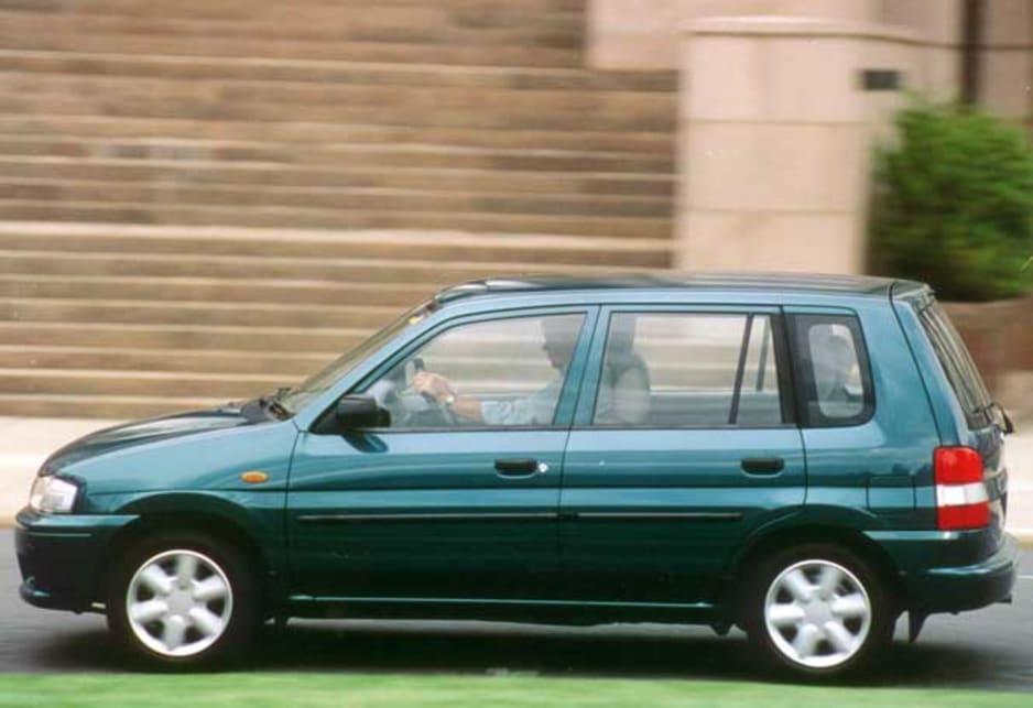 Mazda 121 metro review