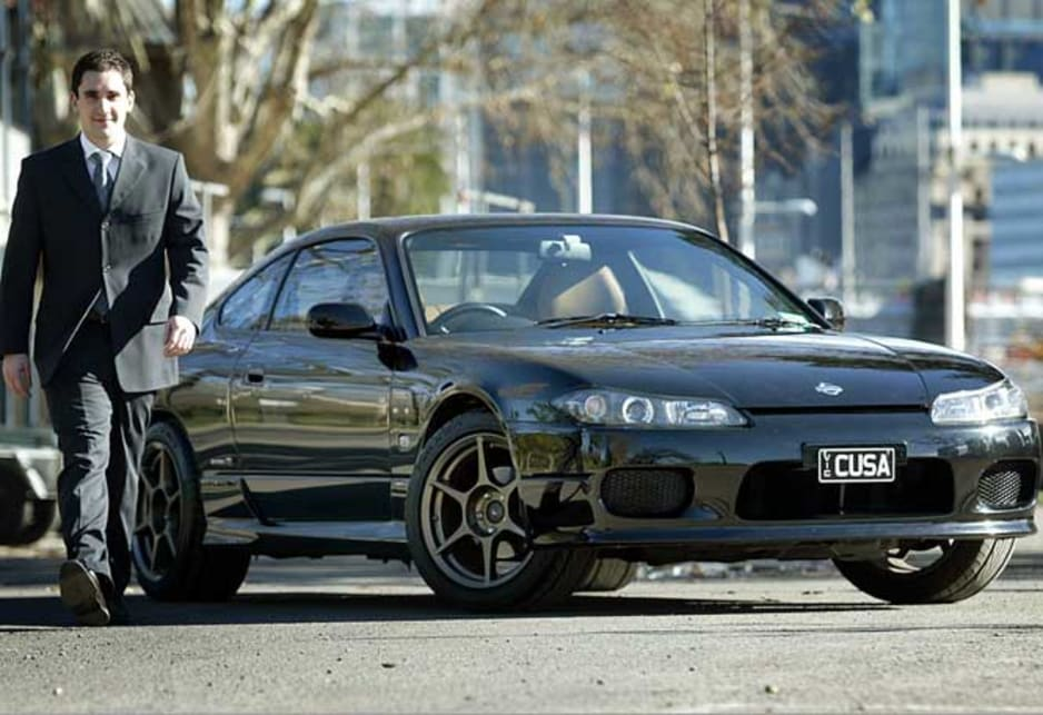 John Cusumano and his 2001 Nissan 200SX Spec R