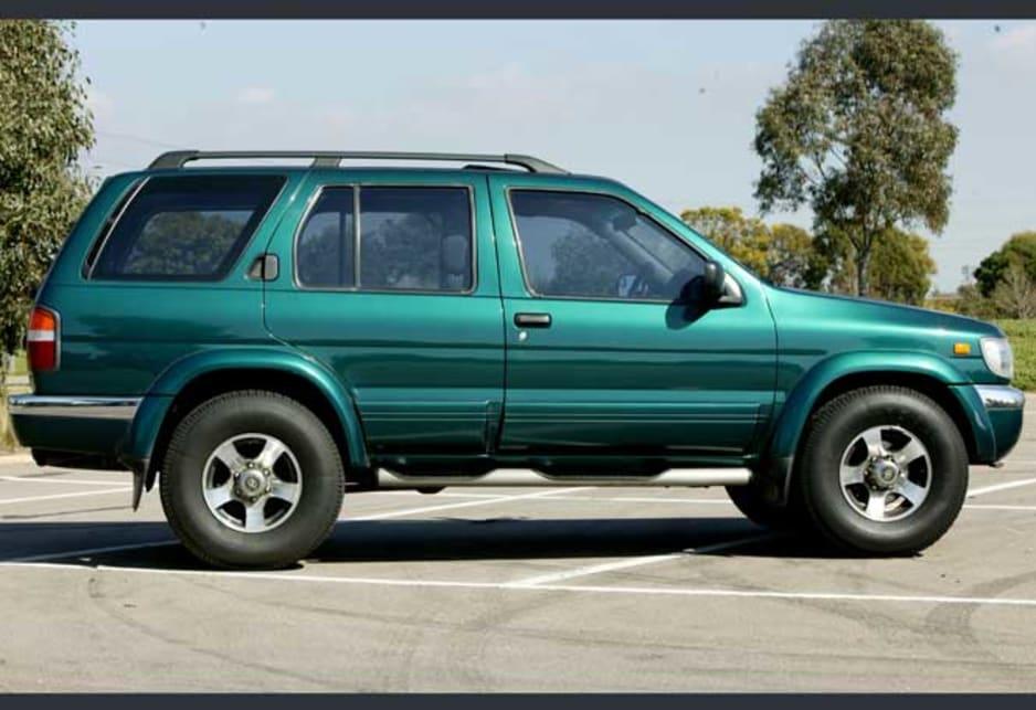 1997 pathfinder off road