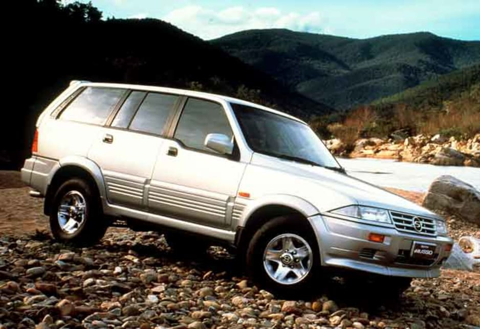 ssangyong musso 2 9td wiring diagram