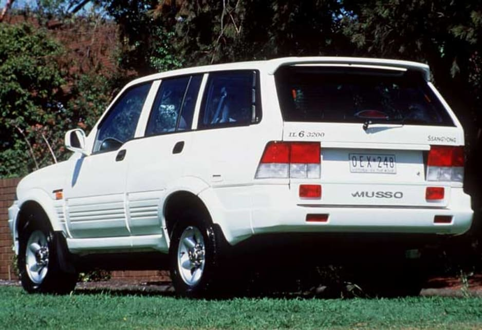 1997 Ssangyong Musso