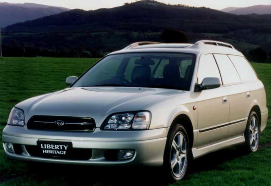 1998 Subaru Liberty Wagon