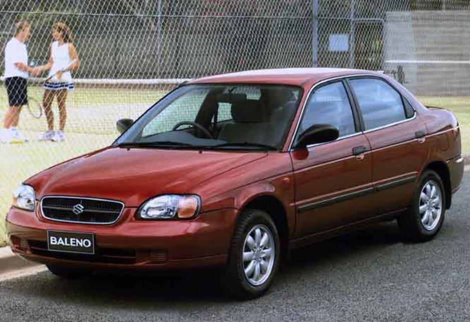 1999 Suzuki Baleno GLX