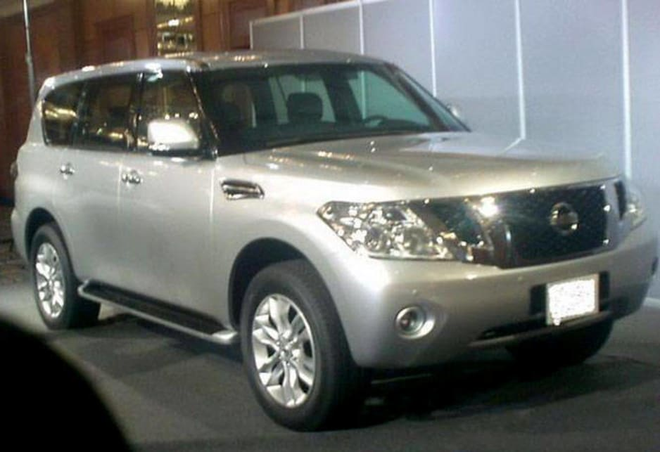 Spy shot 2009 Nissan Patrol - Car News | CarsGuide