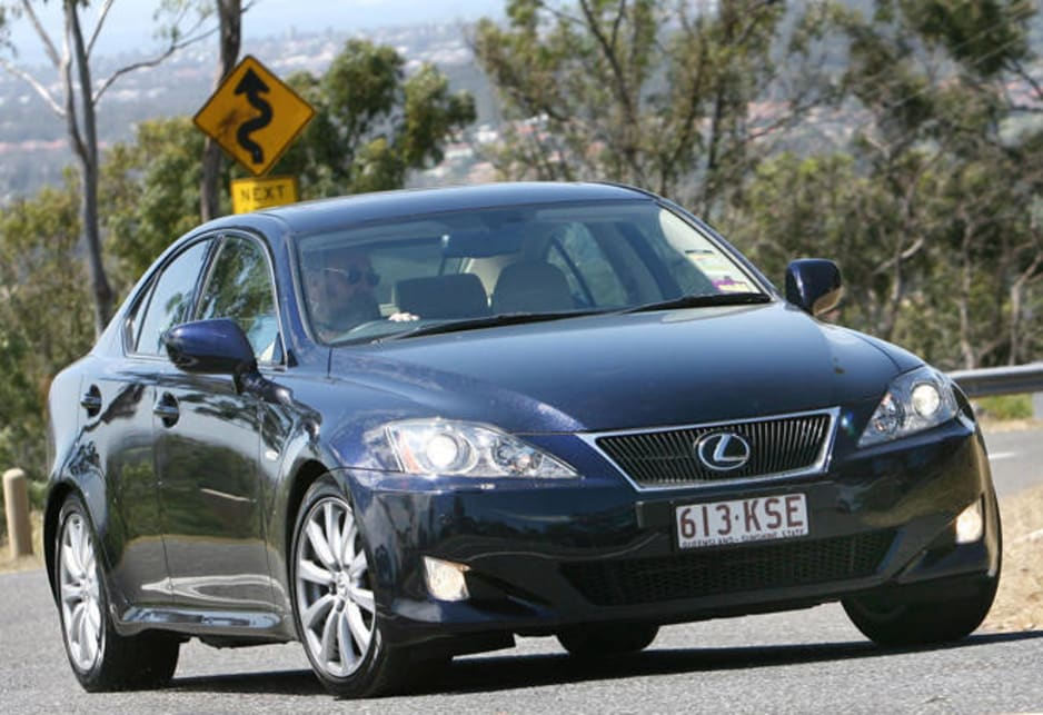 2008 lexus is250 manual review