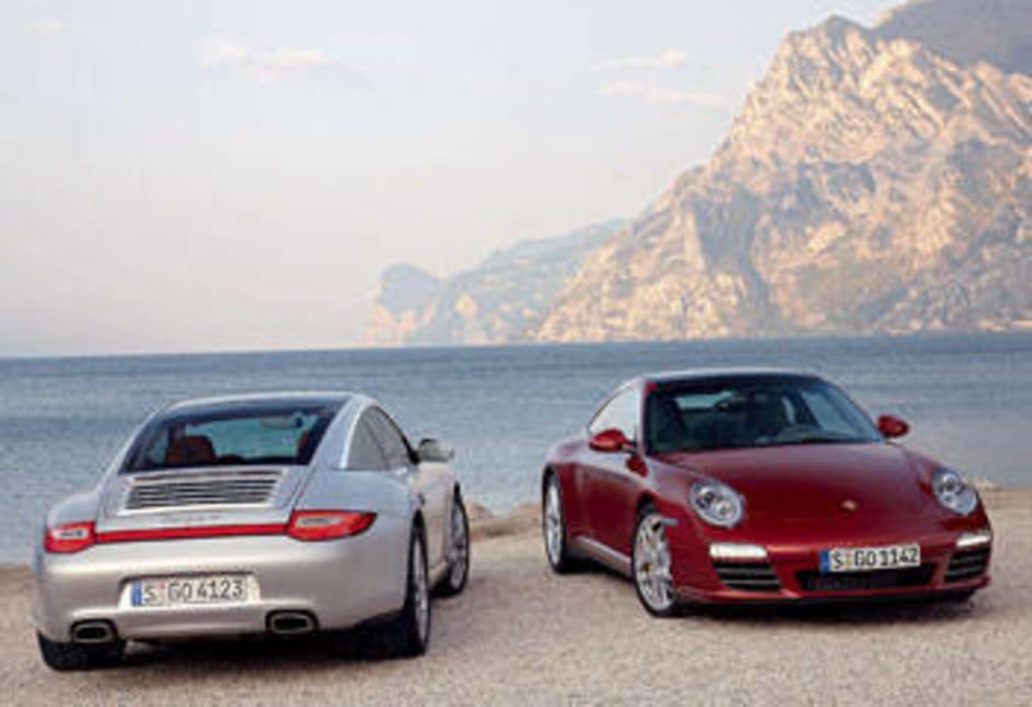 abe0cbbce498 Porsche Targa 4 and Porsche Targa 4S. 2008 Porsche 911 ...