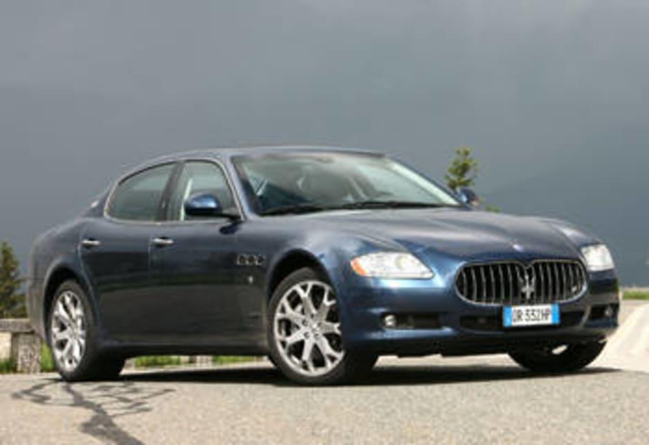 Maserati Quattroporte 2008 Review Carsguide