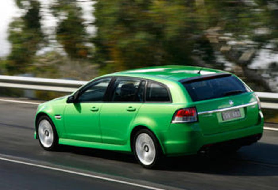 Holden Commodore Sportswagon 2008 Review Carsguide