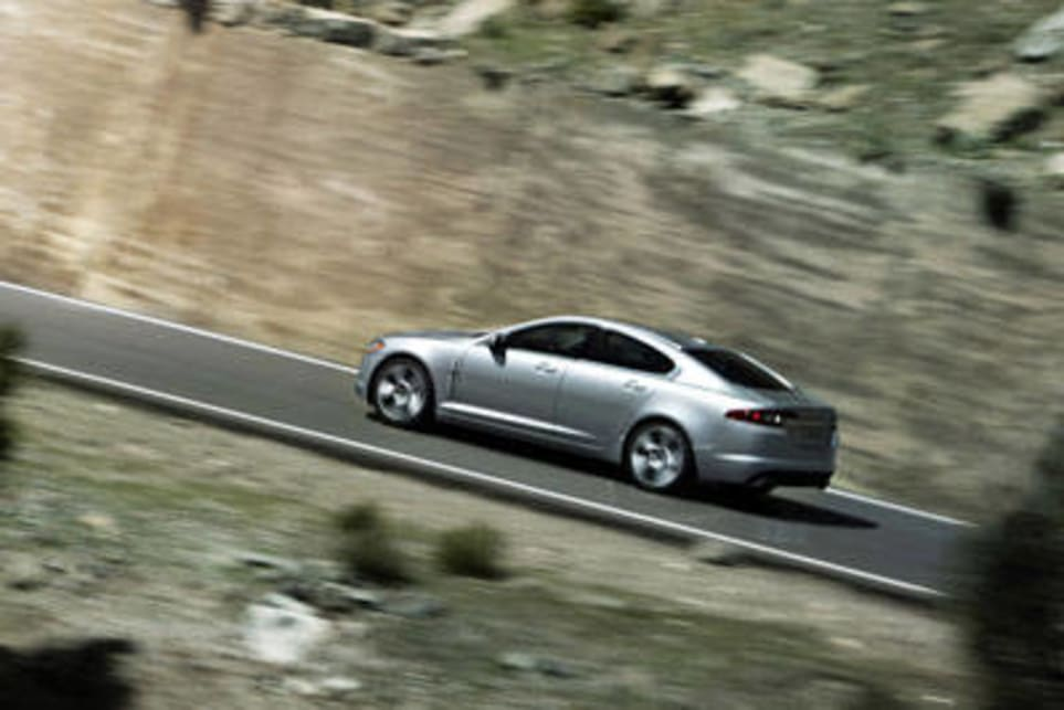 Jaguar XF Road Test