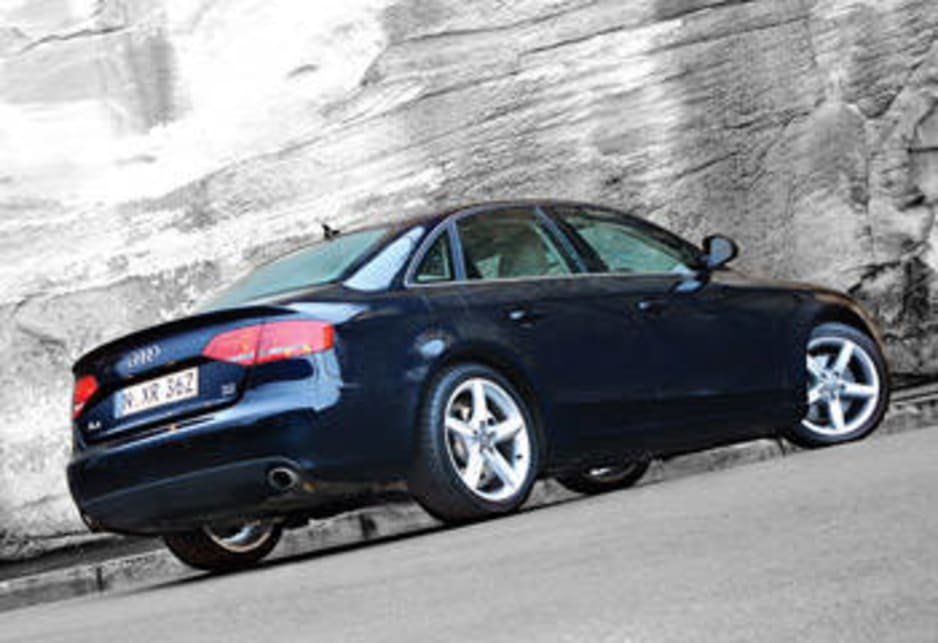 Audi a4 coupe 2008