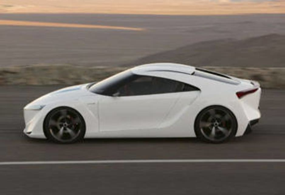 Future Toyota Hybrid Sports coupe concept (FT-HS)