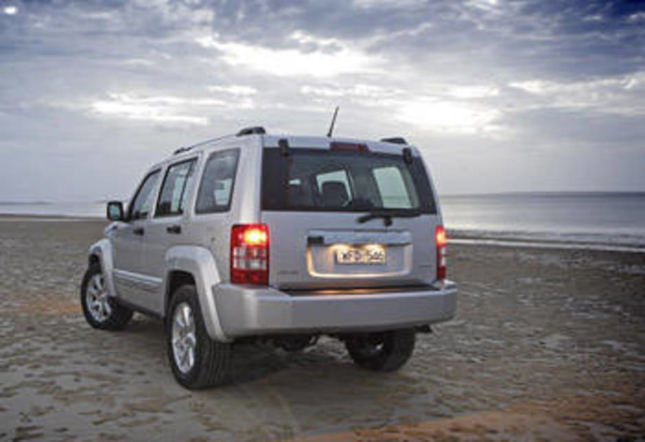 jeep cherokee kk 2008 review road test carsguide. Black Bedroom Furniture Sets. Home Design Ideas