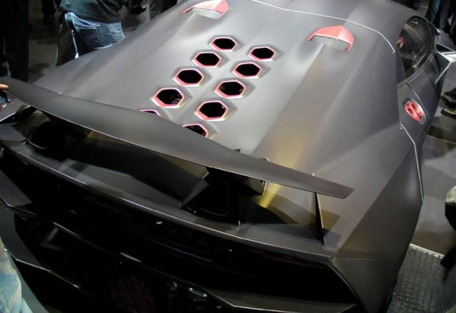 Lamborghini Sesto Elemento Revealed Car News Carsguide
