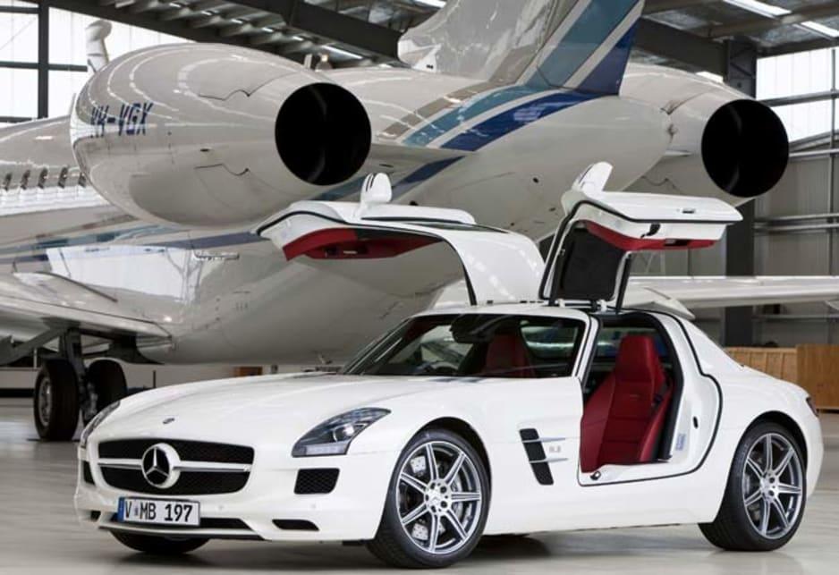 Mercedes benz sls 2010 review carsguide for New mercedes benz sls