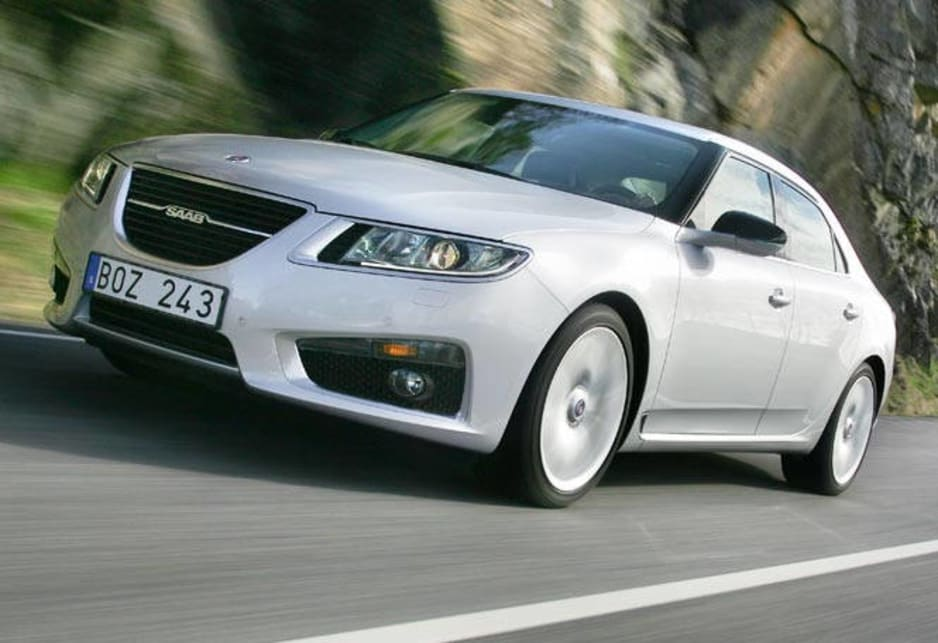 The return of Saab to Australia is finally real today with the arrival of the Swedish company's all-new 9-5 flagship.