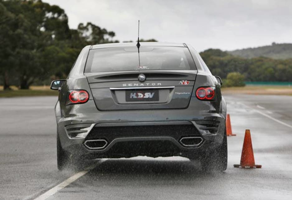 The optional - for $2290 - bi-modal exhaust allows the V8 to burble at the lights but speak with a more civilised tone when cruising. It's nice not to have any drone that can intrude on performance exhausts, but open up the taps and it brays with conviction.