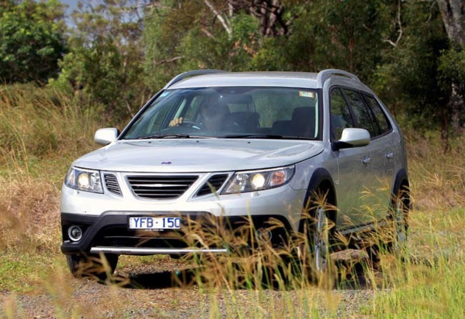 The Saab 9-3X is a handsome, well-mannered machine for the more genteel, more mature outdoors type.