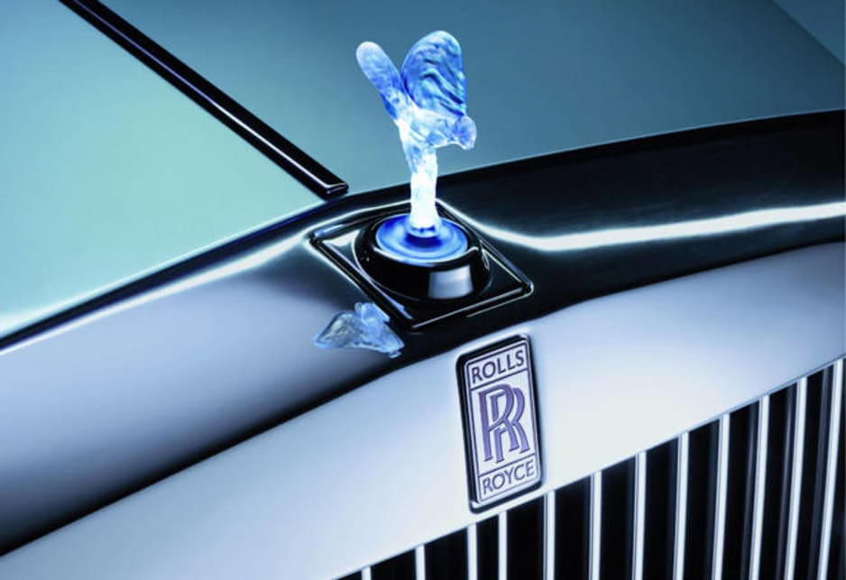 secret affair inspired rolls royce mascot car news carsguide