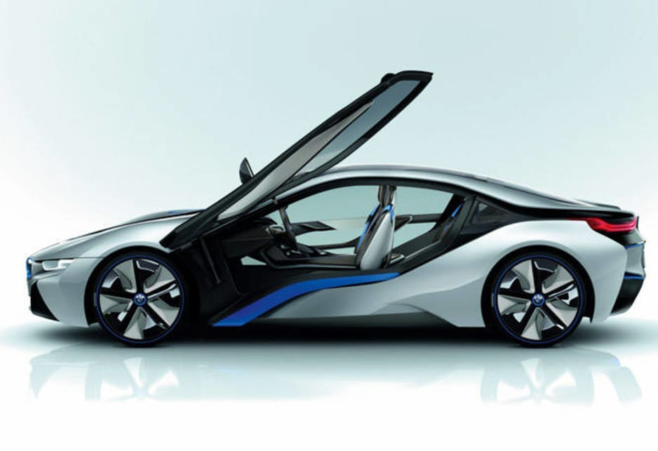 The BMW I8 Concept Plug In Hybrid 2+2 Sports Car Features The I3