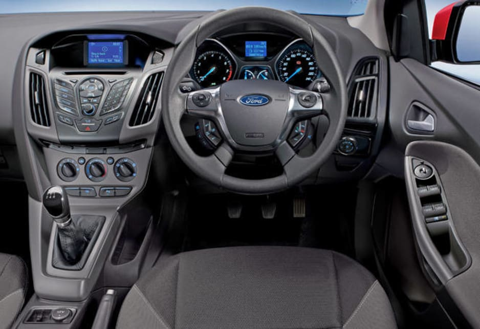 2012 ford focus manual mode