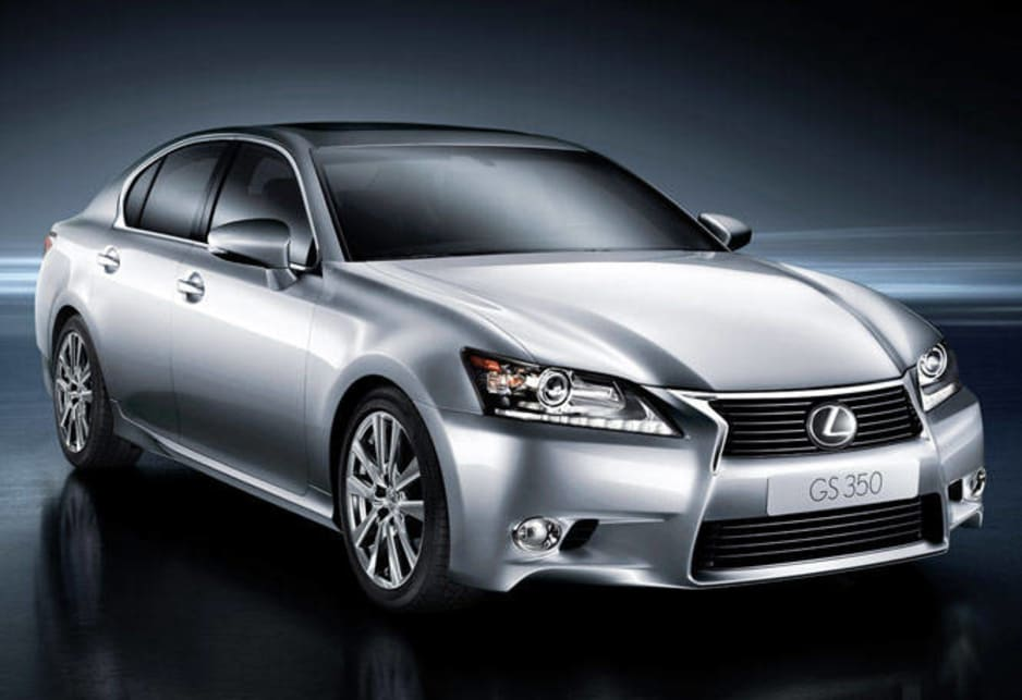 The luxury Lexus GS 350 has been totally re-engineered, restyled, comes with much more power and space, and sports the new 'spindle' grille that will grace all future Lexi.