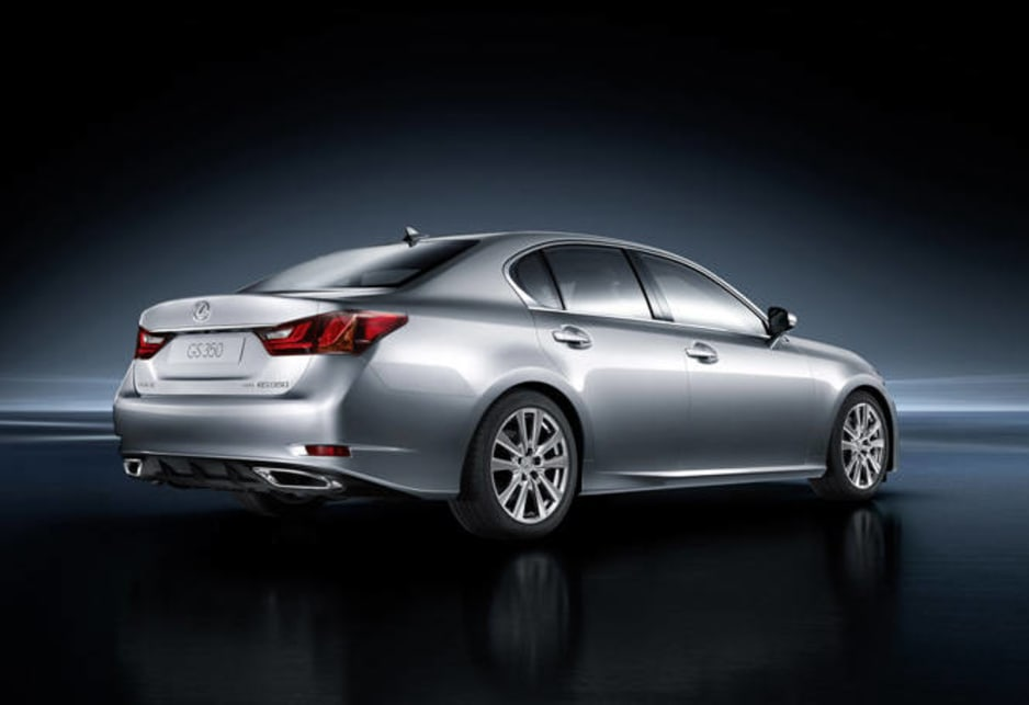 The five-seater Lexus is slightly wider and longer than the GS 300, and interior space and cargo volume have been considerably improved.
