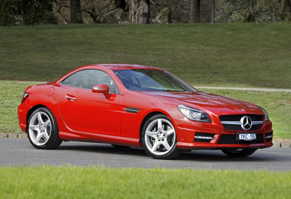 Mercedes benz slk350 review carsguide for Mercedes benz 2 seater