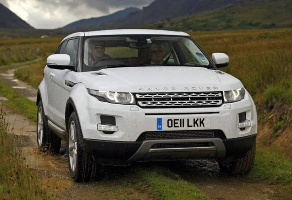 Land Rover Range Rover Evoque Dynamic 2012 review  CarsGuide