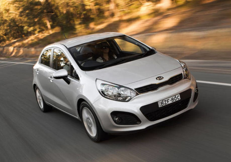 Kia Rio Si And Sli 2011 Review Carsguide