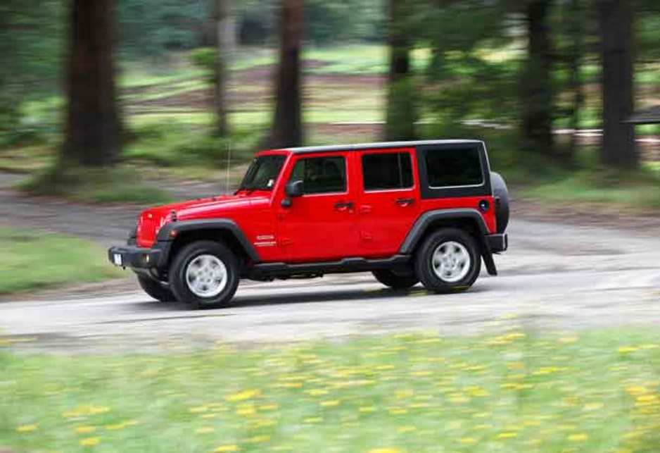 Jeep wrangler unlimited 2011 review carsguide sciox Gallery