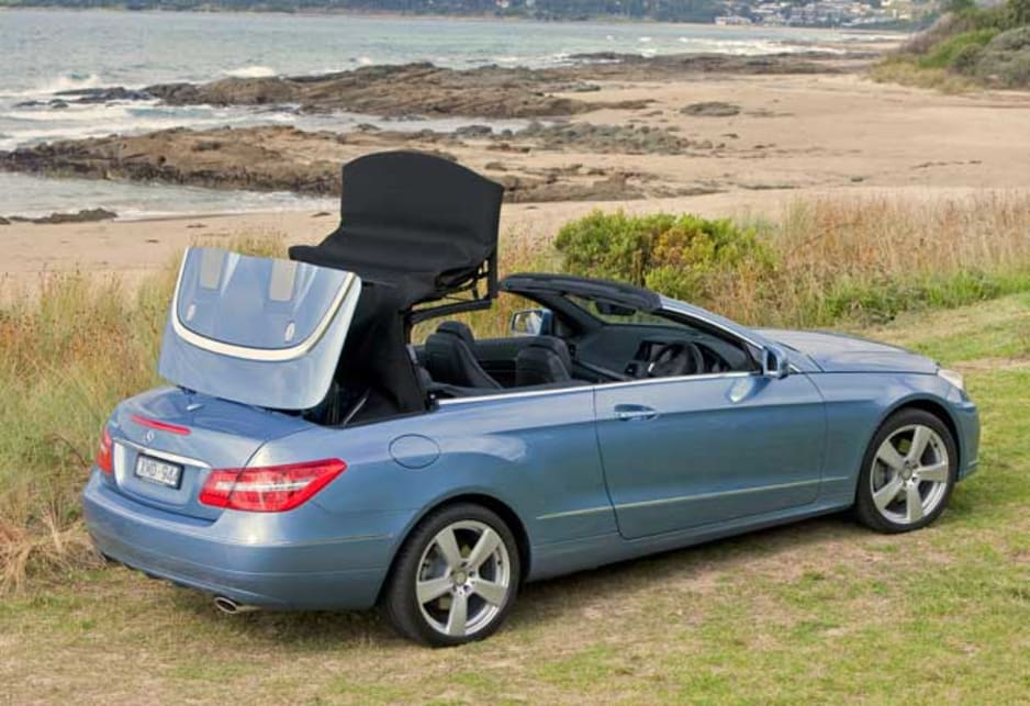 Mercedes benz e250 cabriolet 2011 review carsguide for Drop top mercedes benz