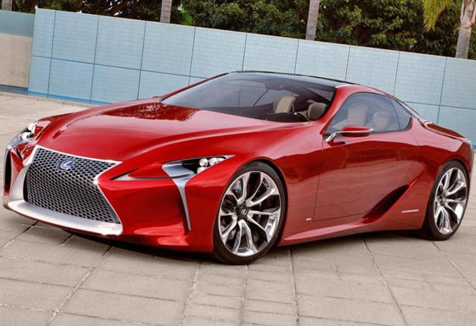 The LC   The Letters Stand For Lexus Coupe   Is A Truly Great Looking Two