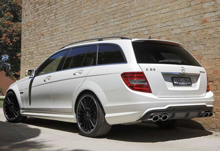 Mercedes benz c class c63 2012 review carsguide for Garage amg auto
