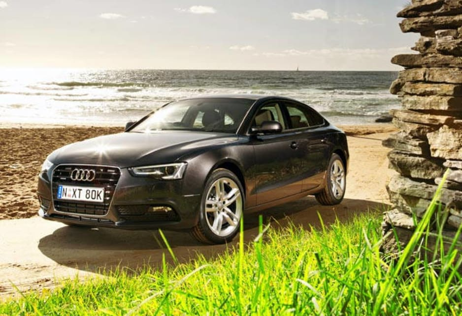 "Audi has launched its updated 21-model range of A5 Coupes, Cabriolets and Sportbacks with six engines, three transmissions, 15 exterior colours, 10 wheel designs and a staggering list of options to ""customise"" your car. That's up from 12 variants previously, and together with the A4 sedan and wagon, Audi now has as many model variants as the BMW 3 Series and Mercedes C-Class."