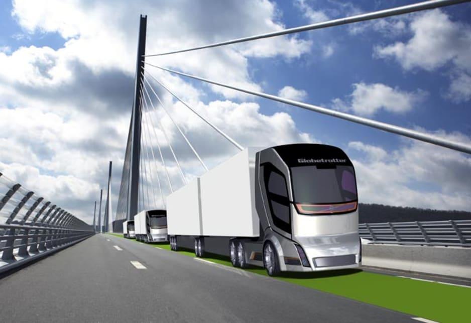 Volvo Futuristic Concept Truck 2020 Car News Carsguide