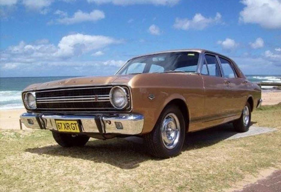 My Ford Falcon Xr Gt