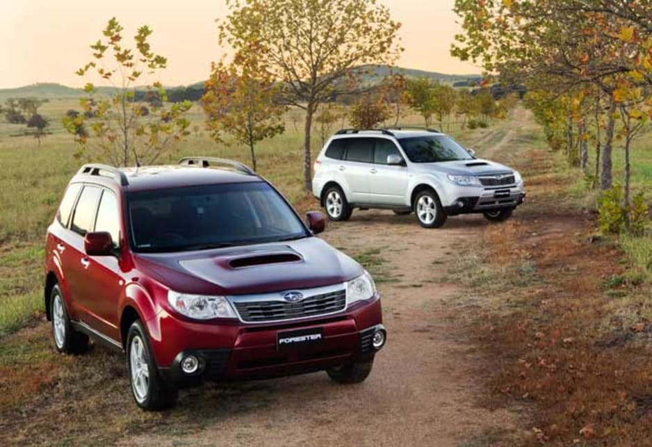 Subaru Forester 2 0 Diesel 2010 First Drive Review Carsguide