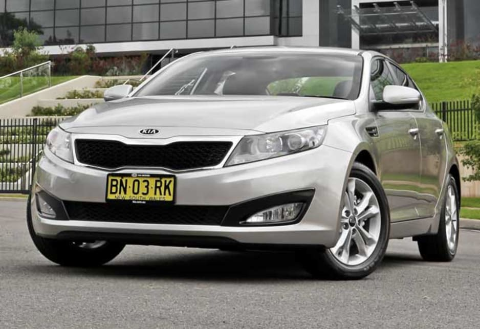 Used Kia Optima Review: 2010 2012