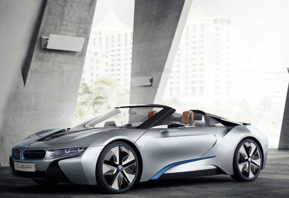 Bmw I8 Spyder To Launch In 2016 Car News Carsguide