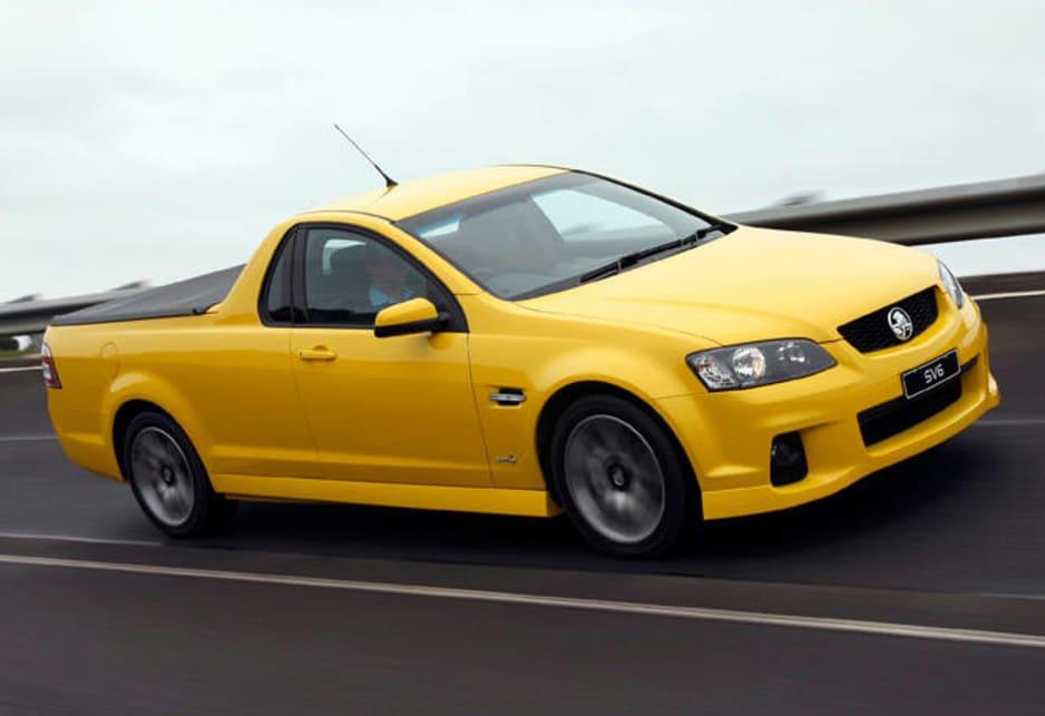 Holden Commodore Sv6 Ute 2011 Review Carsguide