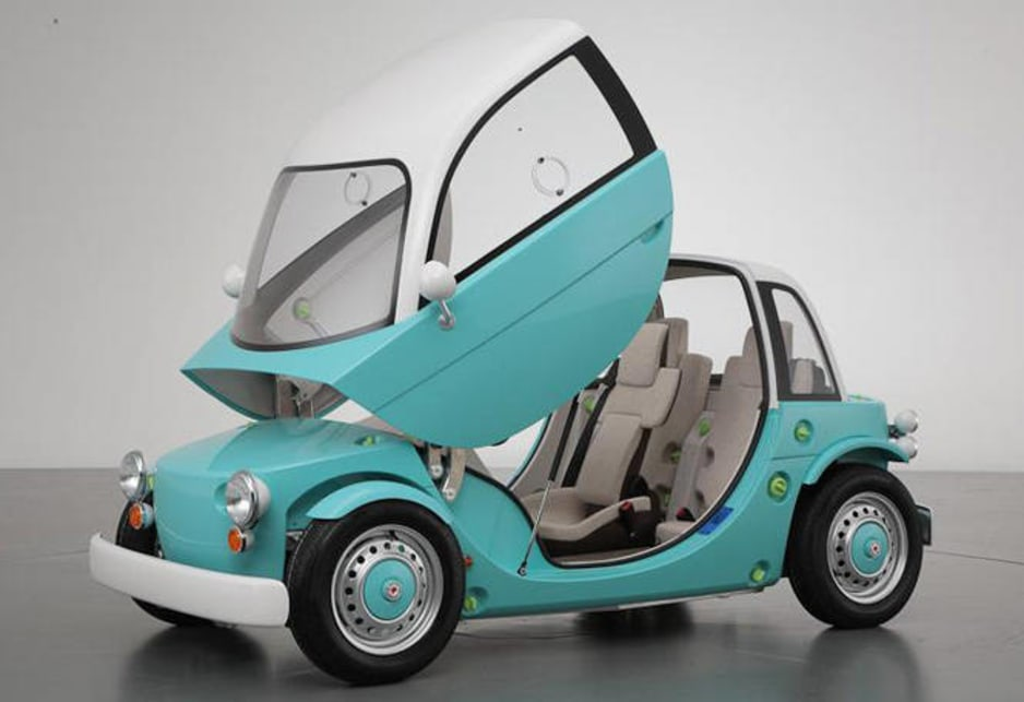 Toyota Camatte A Car For Kids To Drive Car News Carsguide