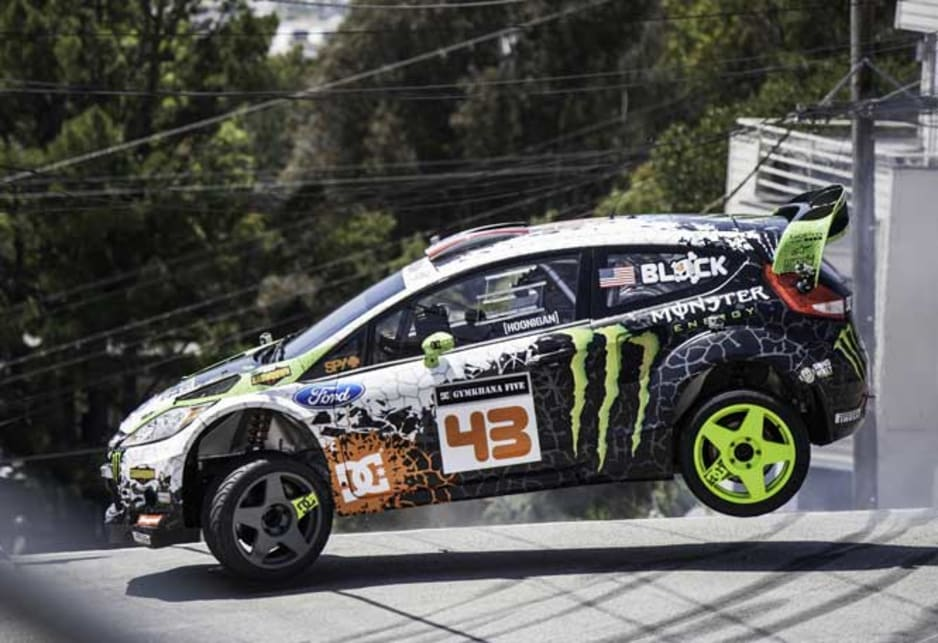 Ken block sues gymkhana video co producer car news for Mad motors st cloud