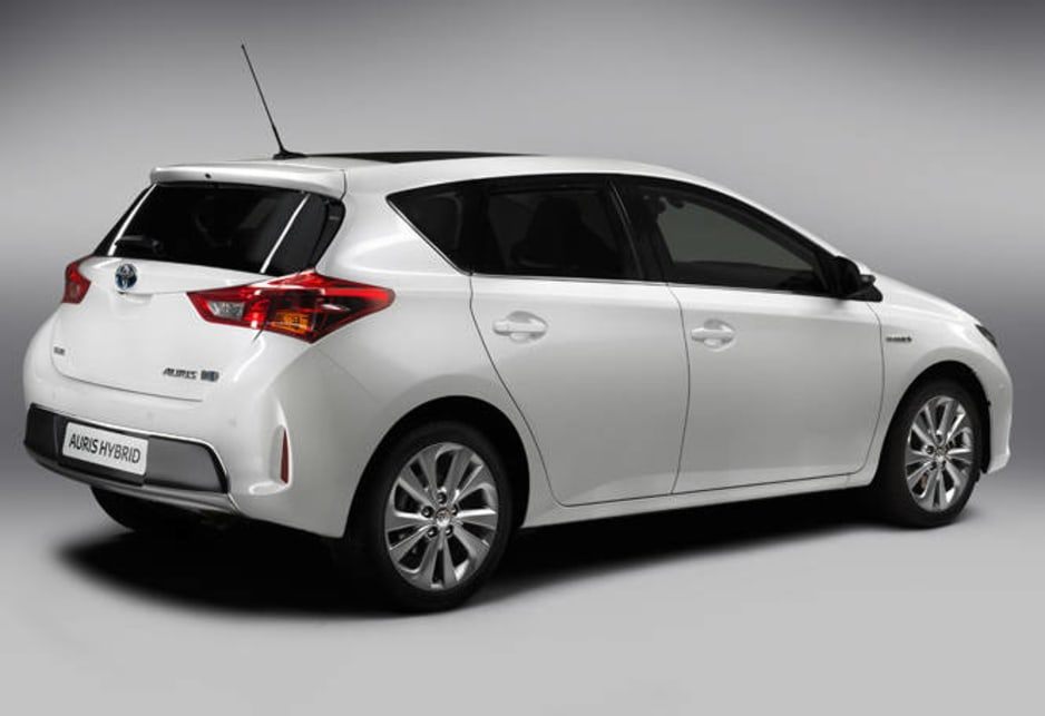 "The Corolla, launched today in Japan under its Auris nameplate, is promoted as a ""sleek, sporty new look for the latest generation of the world's best-selling car""."