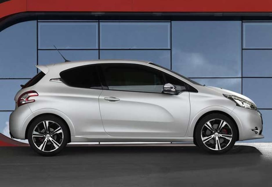 peugeot 208 gti revealed car news carsguide. Black Bedroom Furniture Sets. Home Design Ideas