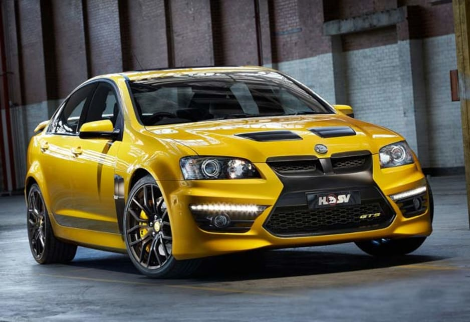 Hsv Gts Limited Edition For Show Car News Carsguide